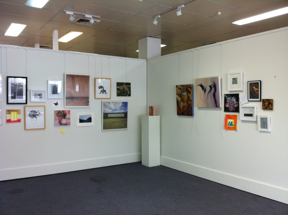 install of OPEN HOUSE, just a bit of tweaking to do before the exhibition commences
